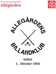 Allegårdens Billardklub :